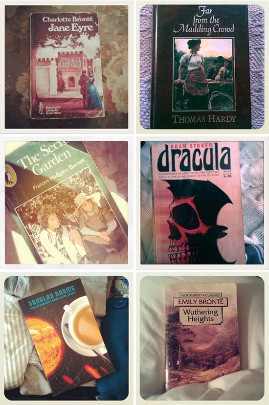 Pre-loved classic books
