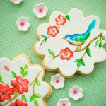 Hand-painted biscuits!