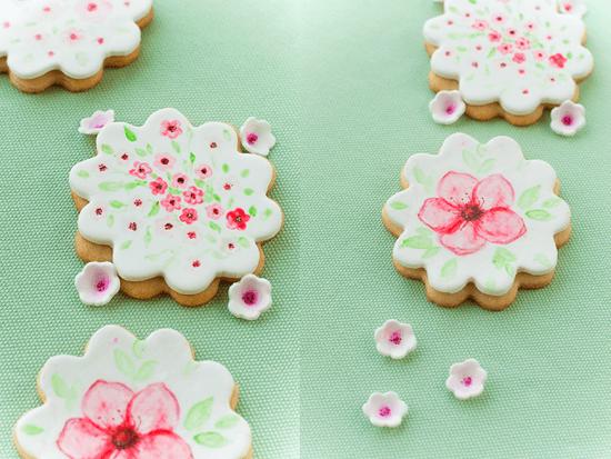 Hand-painted cookies - beautiful edible art!