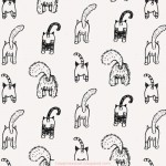 Covered in Cat Bums – an Illustrated Cat Bum Pattern