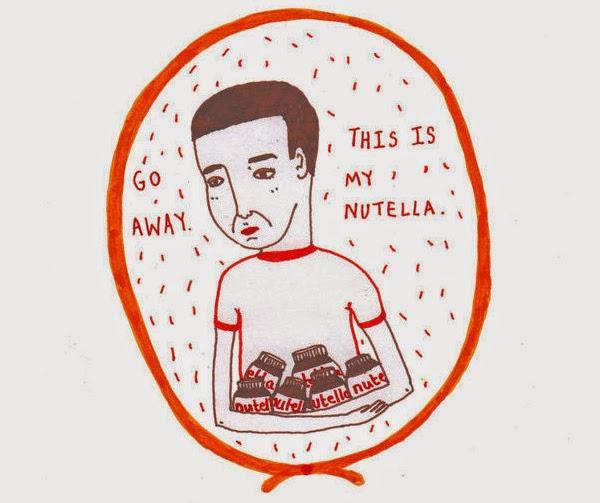Humorous illustration prints by OliverandLyvia