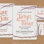 Happiness is… Ready-Made Semi-Custom Wedding Stationery