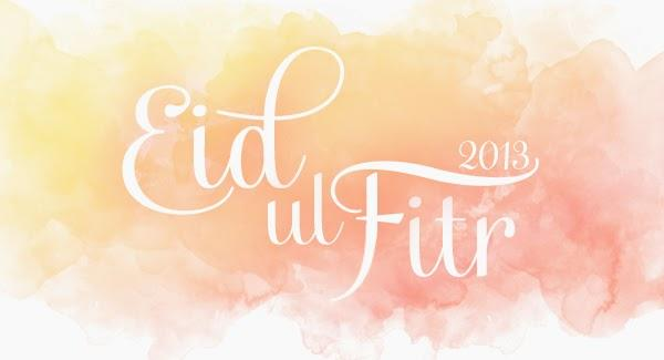 Celebrating the end of the fasting month of Ramadaan with Eid ul Fitr