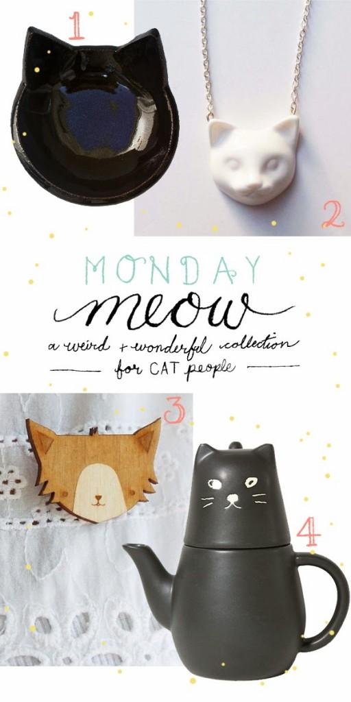 Happiness is... Monday Meow - cat stuff for cat people