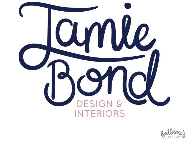 Hand Lettered Logo Design for Jamie Bond