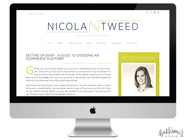 Logo Design for Nicola Tweed