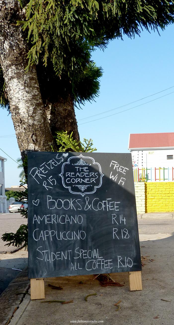 The Reader's Corner - book shop, coffee shop, Durban