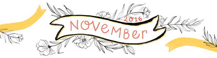 November 2016 free printable calendar