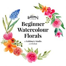 Beginner Watercolour Florals Workshop